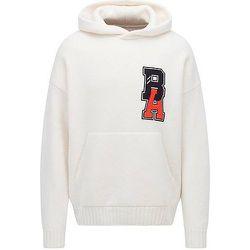 Pull à capuche en laine vierge avec logo exclusif - BOSS X Russell Athletic - Modalova
