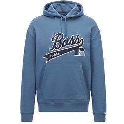 Sweat à capuche en coton mélangé avec logo exclusif - BOSS X Russell Athletic - Modalova
