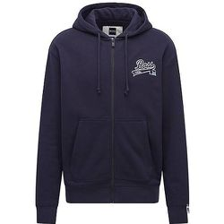 Sweat à capuche zippé en coton mélangé avec logo exclusif - BOSS X Russell Athletic - Modalova