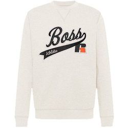 Sweat en coton mélangé avec logo exclusif - BOSS X Russell Athletic - Modalova