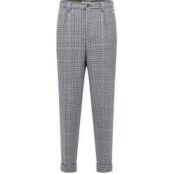 Pantalon Relaxed Fit à motif pied-de-poule avec logo exclusif - BOSS X Russell Athletic - Modalova