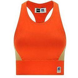 Top color block en jersey avec logo exclusif - BOSS X Russell Athletic - Modalova