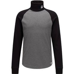 T-shirt à col roulé en coton Pima avec logo exclusif - BOSS X Russell Athletic - Modalova
