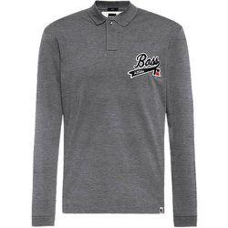 Polo en coton Pima avec logo exclusif - BOSS X Russell Athletic - Modalova