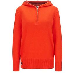 Pull à capuche en laine mélangée avec logo exclusif - BOSS X Russell Athletic - Modalova