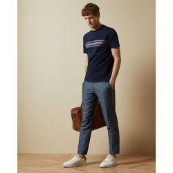 Tee-shirt En Coton Détail Rayures - Ted Baker - Modalova