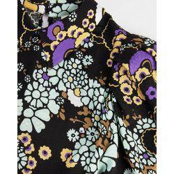 Puff Shoulder Floral Mini Dress - Ted Baker - Modalova