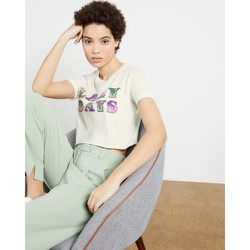Tee-shirt Jersey Avec Slogan - Ted Baker - Modalova