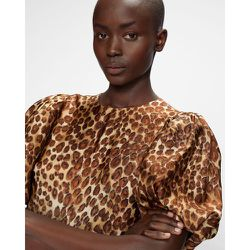 Leopard Print Midi Dress - Ted Baker - Modalova