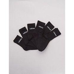 Lot de 6 paires chaussettes '' - Adidas - Modalova