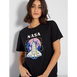 T-shirt imprimé 'Nasa' - NASA - Modalova