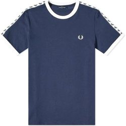 Authentic Taped Ringer T-shirt , , Taille: L - Fred Perry - Modalova