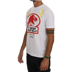 Cotton Crewneck T-Shirt - Frankie Morello - Modalova