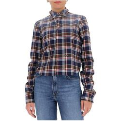 Faded-effect flannel shirt , , Taille: 44 IT - Dsquared2 - Modalova