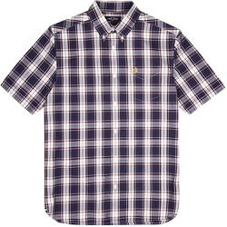Authentic Button Down Short Sleeve Check Shirt , , Taille: M - Fred Perry - Modalova