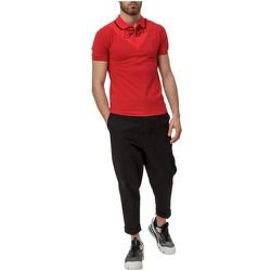 Polo Shirt with Contrasting Insert - Fred Perry - Modalova
