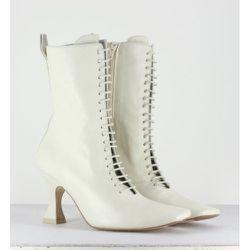 Yana boots Leather Miista - Miista - Modalova