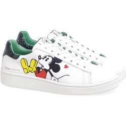 Sneakers in pelle con stampa Mickey Mouse 3D - MOA - Master OF Arts - Modalova