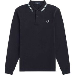 Authentic Long Sleeved Twin Tipped Polo , , Taille: S - Fred Perry - Modalova