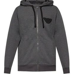 Patched hoodie , , Taille: M - Emporio Armani - Modalova
