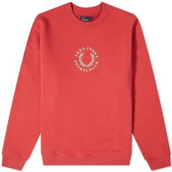 Embroidered Logo Sweat , , Taille: L - Fred Perry - Modalova