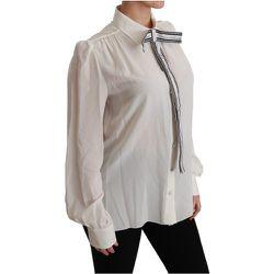 Chemise à manches longues Chemisier en soie Top - Dolce & Gabbana - Modalova