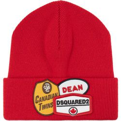 Wool hat with logo , , Taille: Onesize - Dsquared2 - Modalova