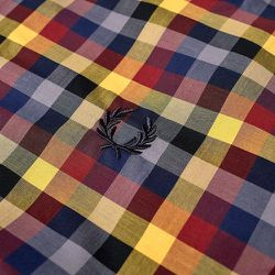Authentic Multi Check Gingham Shirt - Fred Perry - Modalova