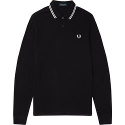 Authentic Long Sleeved Twin Tipped Polo Shirt , , Taille: M - Fred Perry - Modalova