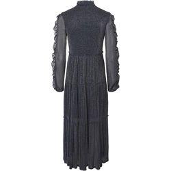 Nmglam L / S Frill Long Dress - Noisy May - Modalova