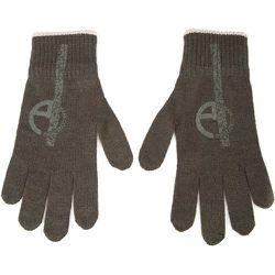 Knitted gloves , , Taille: M - Armani Collezioni - Modalova