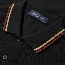 Slim Fit Twin Tipped Polo - Fred Perry - Modalova