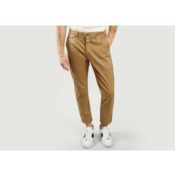 Atelier Cropped Trousers With Side Stripes - closed - Modalova