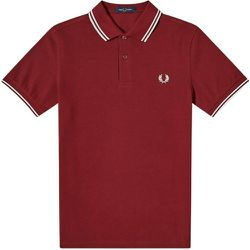 Authentic Slim Fit Twin Tipped Polo Port Shirt , , Taille: XL - Fred Perry - Modalova