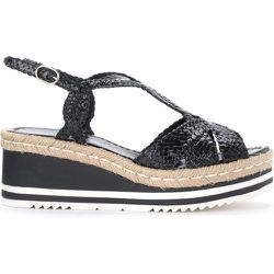 Sandal in woven leather with crossed bands , , Taille: 40 - Pons Quintana - Modalova
