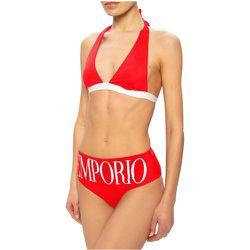 Maillot de bain à culotte montante , , Taille: L - Emporio Armani - Modalova