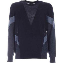 Pull en marqueterie de bloc de couleur de laine , , Taille: S - Emporio Armani - Modalova
