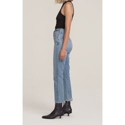 Riley High Rise Straight Cropped Pants - Agolde - Modalova