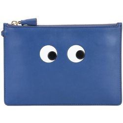 Eyes Zip-Top Pouch , , Taille: Onesize - Anya Hindmarch - Modalova