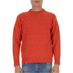 Crew-neck knit sweater , , Taille: 46 IT - Laneus - Modalova
