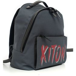 Leather and cordura rucksack Kiton - Kiton - Modalova