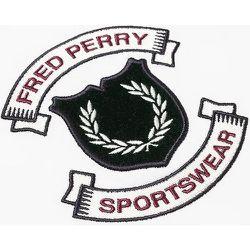 Bouclier brodé authentique T-shirt - Fred Perry - Modalova
