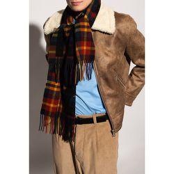 Écharpe en laine à carreaux - Dsquared2 - Modalova