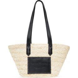 Straw shoulder bag , , Taille: Onesize - Emporio Armani - Modalova