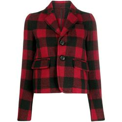 Checked button-up jacket , , Taille: 42 - Dsquared2 - Modalova