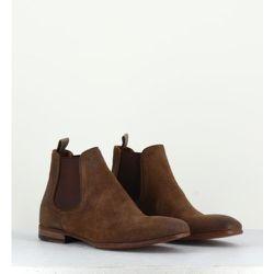 Boots élastique Chelsea en daim - 11422T - Pantanetti - Modalova