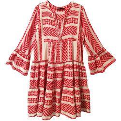 Vestido Corto Print Etnico , , Taille: XS - Devotion - Modalova