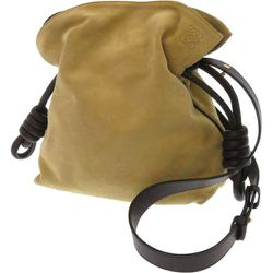 Sac à bandoulière Flamenco Knot Suede d'occasion , , Taille: Onesize - Loewe Pre-owned - Modalova