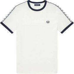 Taped Ringer Tee t-shirt M6347 B34 , , Taille: L - Fred Perry - Modalova