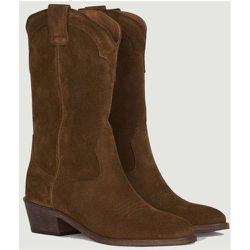 Welson suede leather boots - Anthology Paris - Modalova